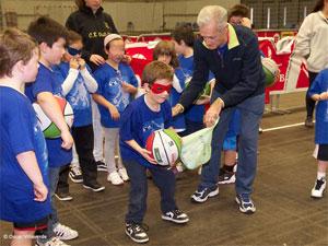 La Fundación BizkaiaBasket despidió de la mejor manera el año 2012 con la Escuela de Baloncesto