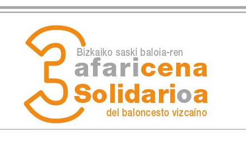 3ª Cena Solidaria del Baloncesto Vizcaíno. Emiliano Rodríguez, Premio Saski Saria
