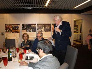 Fin de curso para la Fundación Bizkaia Basket con la Tercera Cena Solidaria y la entrega de Saski Saria