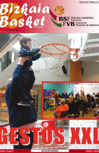 Bizkaia Basket 63 – Gestos XXL Semana de programas sociales de la mano de Romay