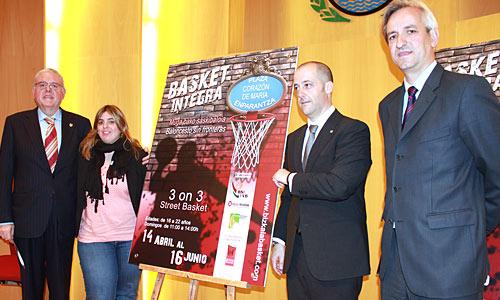 El baloncesto como elemento integrador en el 'Basket Integra – Baloncesto sin Fronteras'