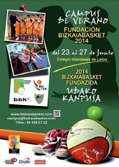 Continúa abierto el plazo de inscripción para el Campus de Verano Fundación BizkaiaBasket 2014