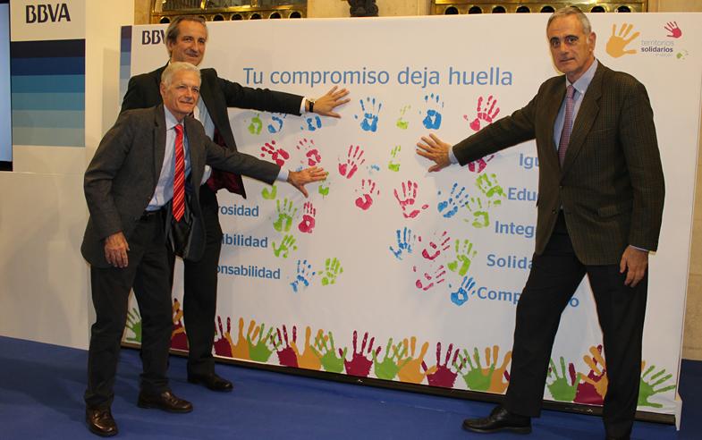 La Fundación Bizkaia Basket, galardonada con el premio 'Territorios Solidarios BBVA'