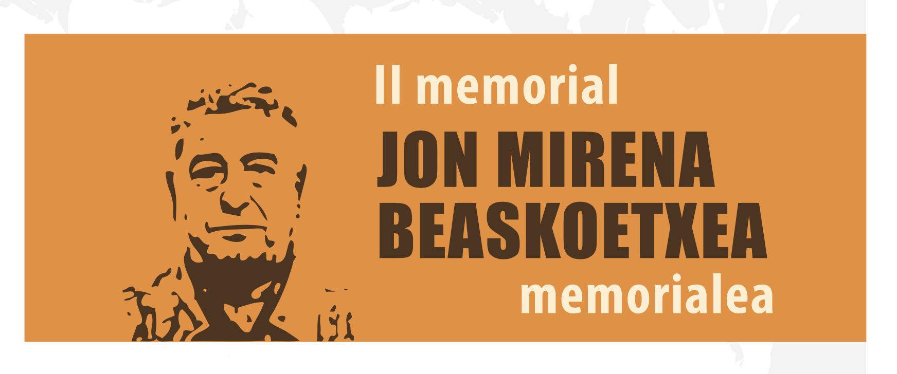II MEMORIAL JON MIRENA BEASKOETXEA Y TORNEO 2 GENERACIONES