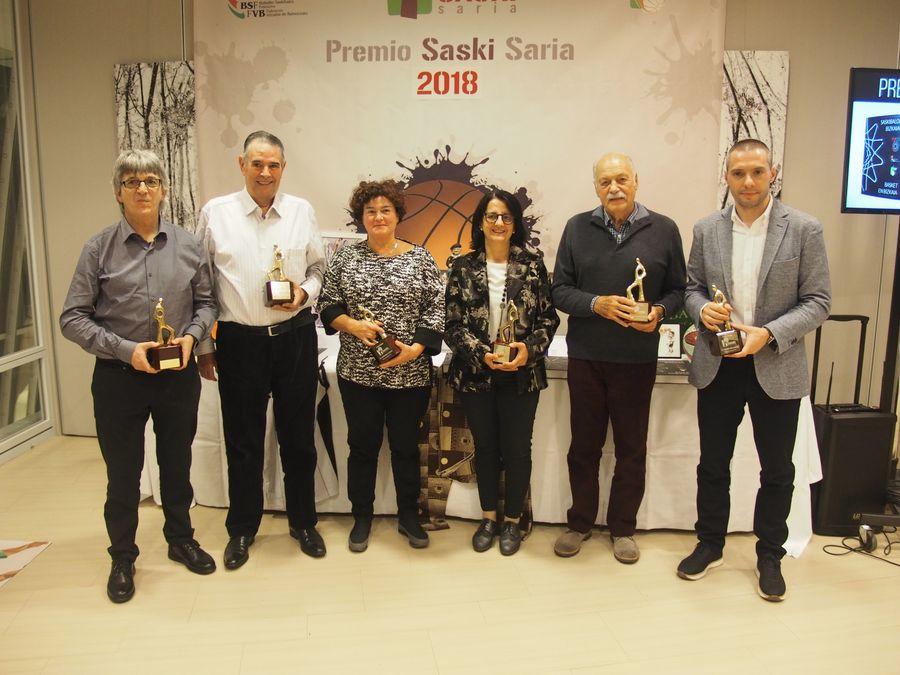 Cena Solidaria y Premios Saski Saria 2018