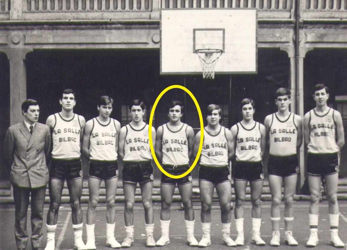 Fallece un histórico del basket bizkaino